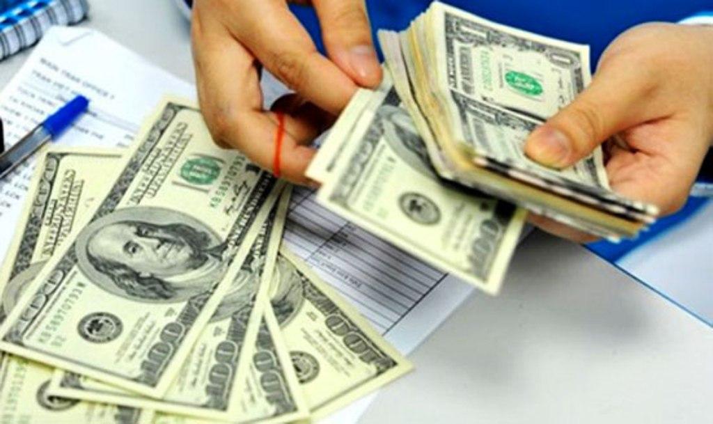 Tỷ giá trung tâm giảm 2 đồng