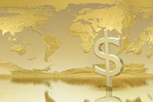 Vàng cao kỉ lục là dấu hiệu cho thấy thị trường đang đặt câu hỏi về vị thế đồng tiền dự trữ của USD
