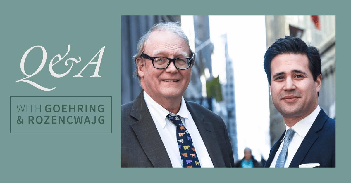 Goehring & Rozencwajg: Hãy tận dụng 'cơ hội mua cực tốt' này để gom vàng