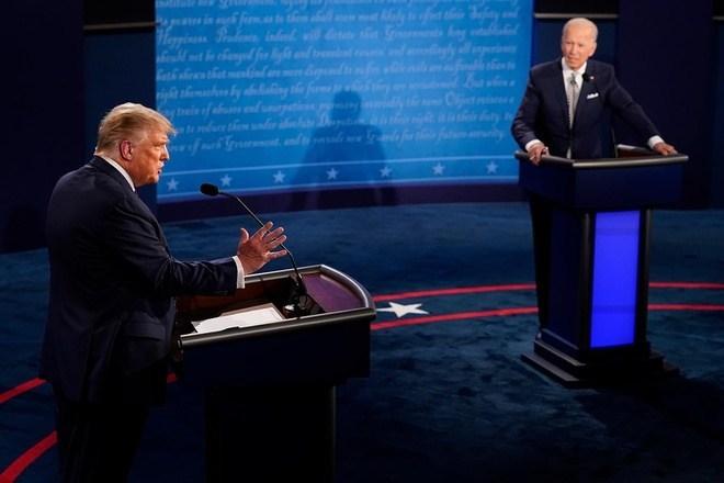 Tranh luận Tổng thống Mỹ phiên đầu tiên 30/9: Trump và Biden đụng độ căng thẳng