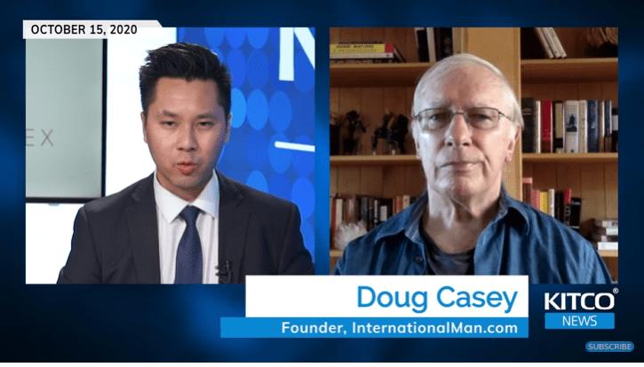 Tỷ phú Doug Casey cảnh báo: Vàng 'siêu bong bóng', một cuộc Nội chiến khác giờ có khả năng xảy ra hơn bao giờ hết