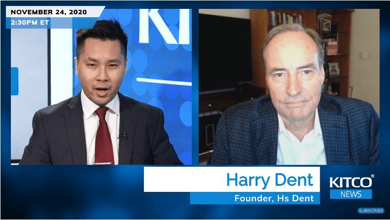 Harry Dent: Chứng khoán sẽ sụt 40% vào tháng 4 tới và không thể phục hồi trong nhiều thập kỷ tới, và đây là lý do