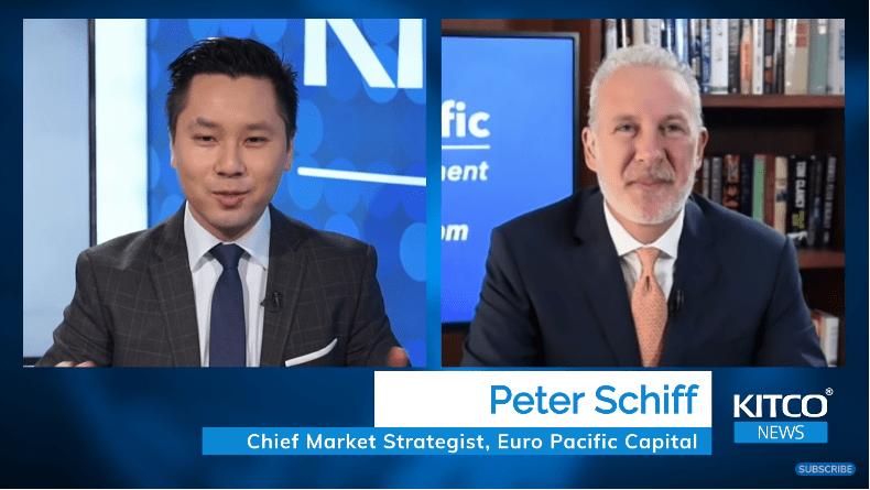 Peter Schiff: Bitcoin vẫn sẽ 'sụp đổ'; 'Vòng xoáy tử thần' của lạm phát sắp tới