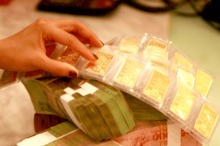 SJC tăng 150.000 đồng/lượng, vàng thế giới giằng co