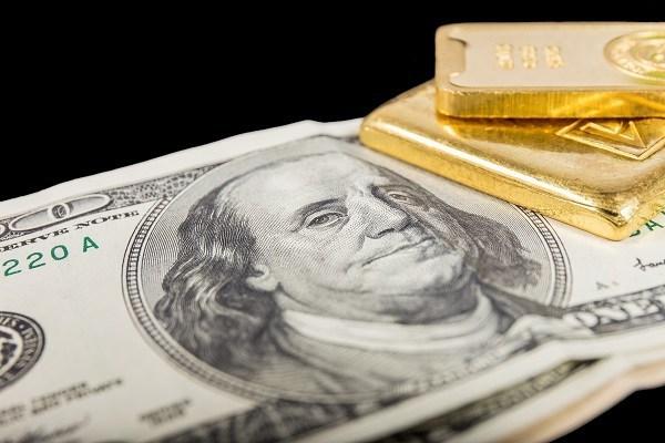 USD sụt về đáy tháng, vàng vọt mạnh lên trên vùng 1800$