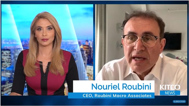 Roubini: Bong bóng công nghệ, tiền điện tử sắp nổ. Tôi sẽ 'tăng tỉ trọng vàng' ngay bây giờ