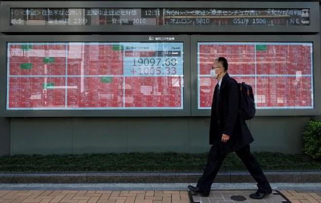 Sáng 17/6: CK Nhật Bản giảm sâu theo phố Wall, Cổ phiếu Trung Quốc, Hồng Kông lại xanh điểm