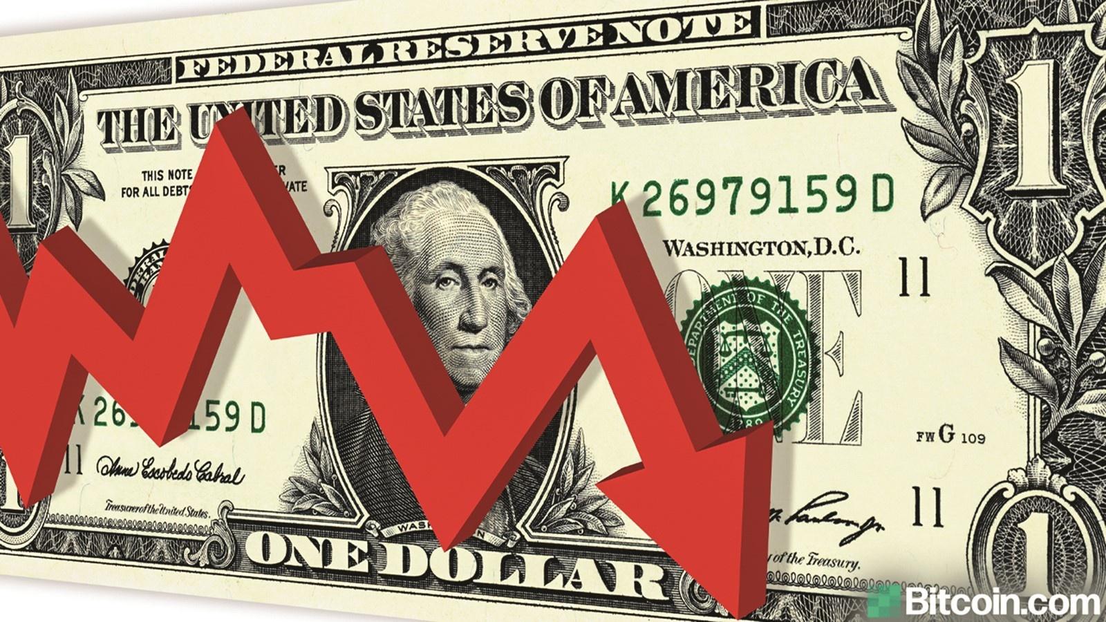 USD có tuần giảm mạnh nhất từ tháng 5, DXY rời mốc 92
