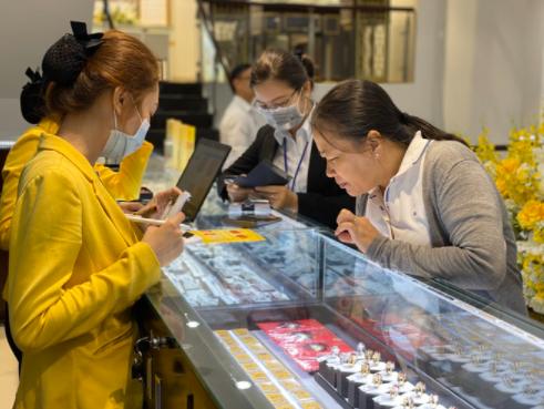 Doanh nghiệp vàng lớn đang gia tăng thị phần